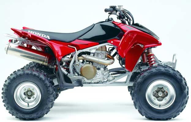 Red Yamaha Rhino